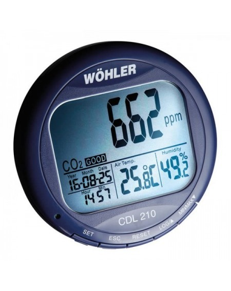 Wöhler CDL 210 - Medidor CO2