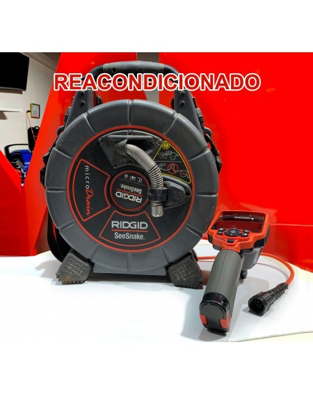Kit microDrain Ridgid SeeSnake Reacondicionado