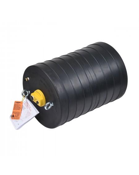 """Obturador Neumático 24"""" Con Bypass De 4"""" Hembra Con Rango De Uso (mm) : 558-632"""