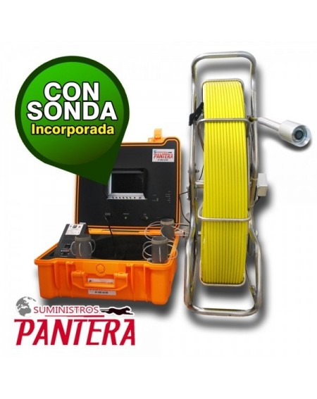 "Panter F50 con SONDA LCD 10"""