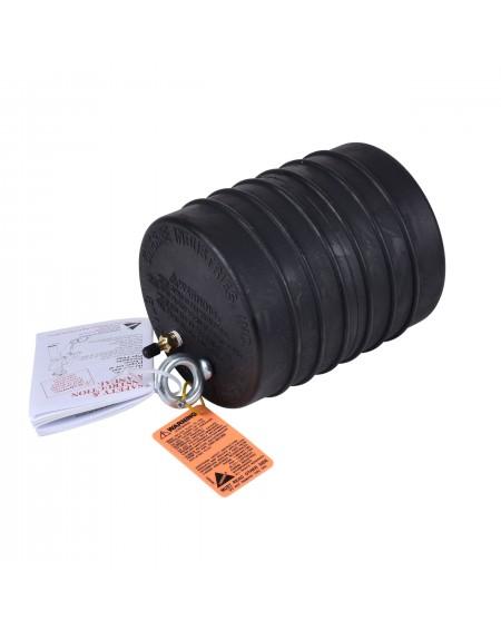"""Obturador para pruebas Neumático subterraneo 8"""" Con Rango De Uso (mm) : 178-210"""