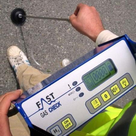Localizador de fugas mediante gas trazador - Gas Check H2