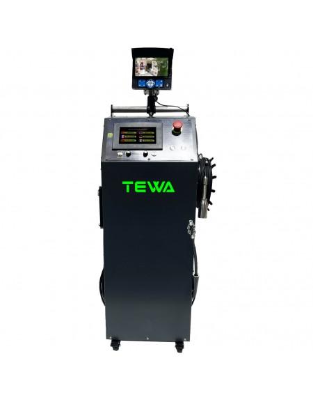 TEWA COMPACT HIDRAULIC. Sistemas adaptados para reparaciones interiores de bajantes